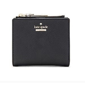 KATE SPADE ♠️ Adalyn Black Wallet